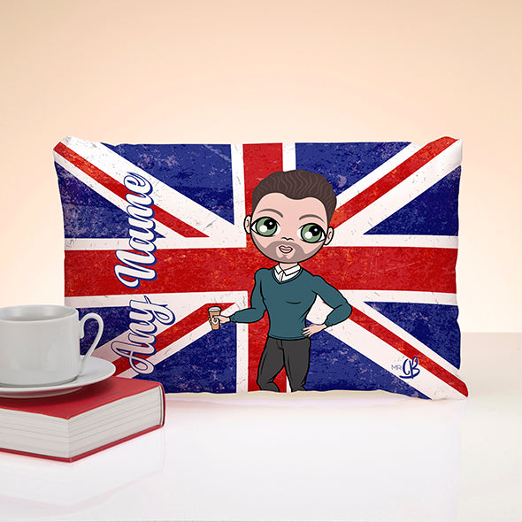 MrCB Union Jack Placement Cushion - Image 1