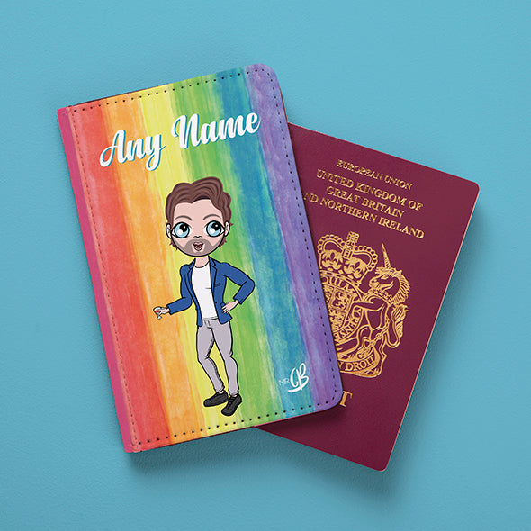 MrCB Rainbow Passport Cover - Image 2