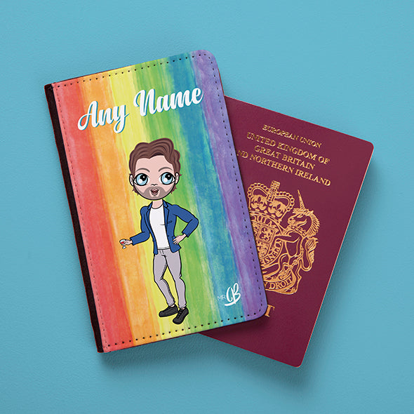 MrCB Rainbow Passport Cover - Image 1
