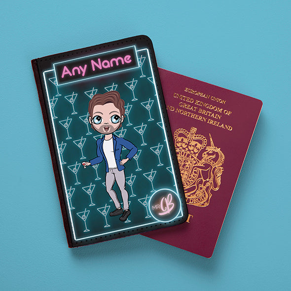 MrCB Cocktail Hour Passport Cover - Image 1