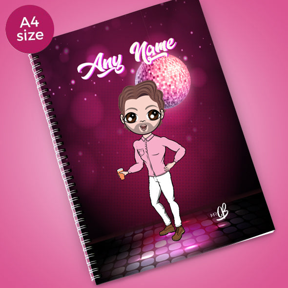 MrCB Disco Diva A4 Softback NoteBook - Image 1