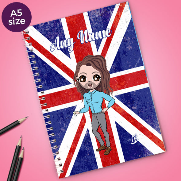 MrCB Union Jack A5 Softback NoteBook - Image 1