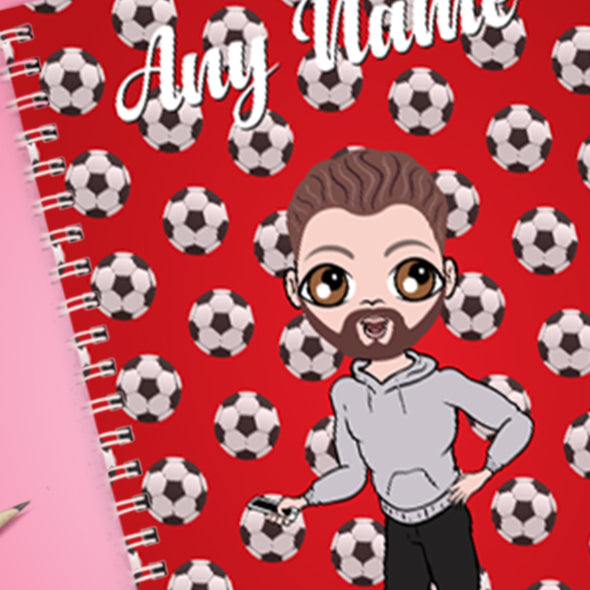 MrCB Football A5 Softback NoteBook - Image 2
