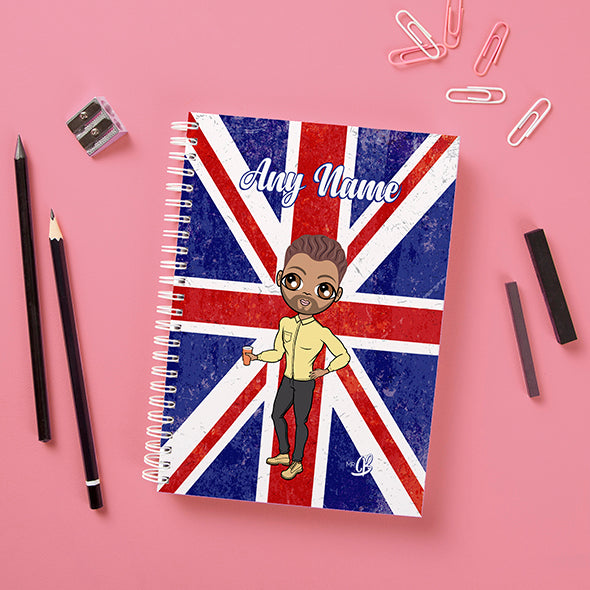 MrCB Union Jack Hardback Notebook - Image 2