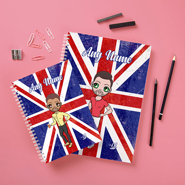 MrCB Union Jack Hardback Notebook - Image 3
