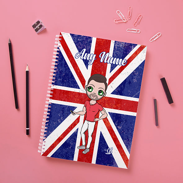 MrCB Union Jack Hardback Notebook - Image 1