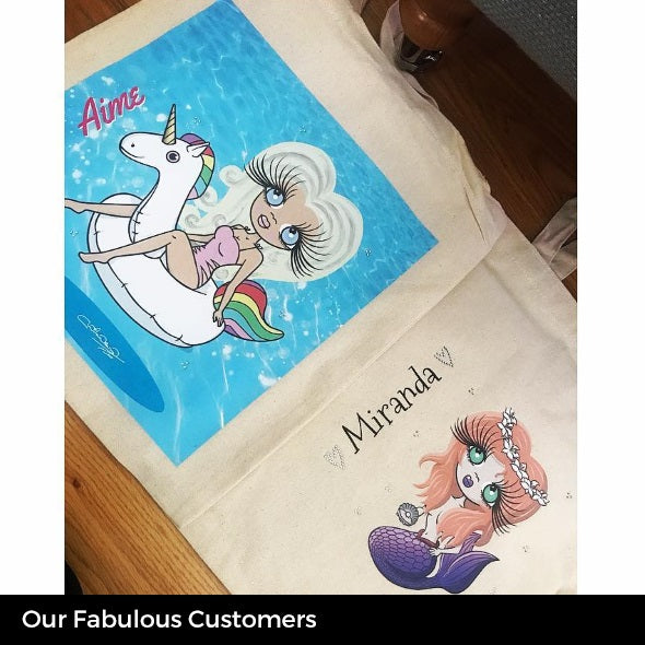 ClaireaBella Pool Side Canvas Bag - Image 7