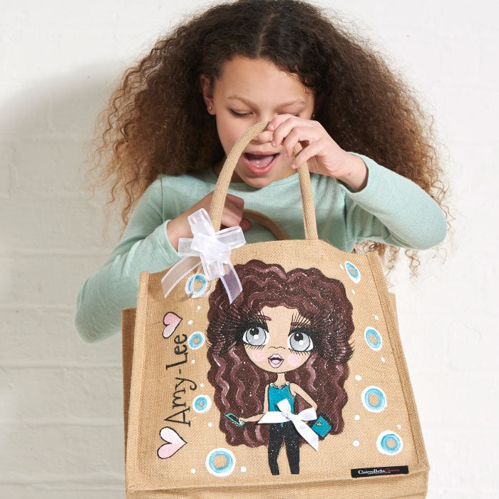 ClaireaBella Girls Large Jute Bag - Image 6