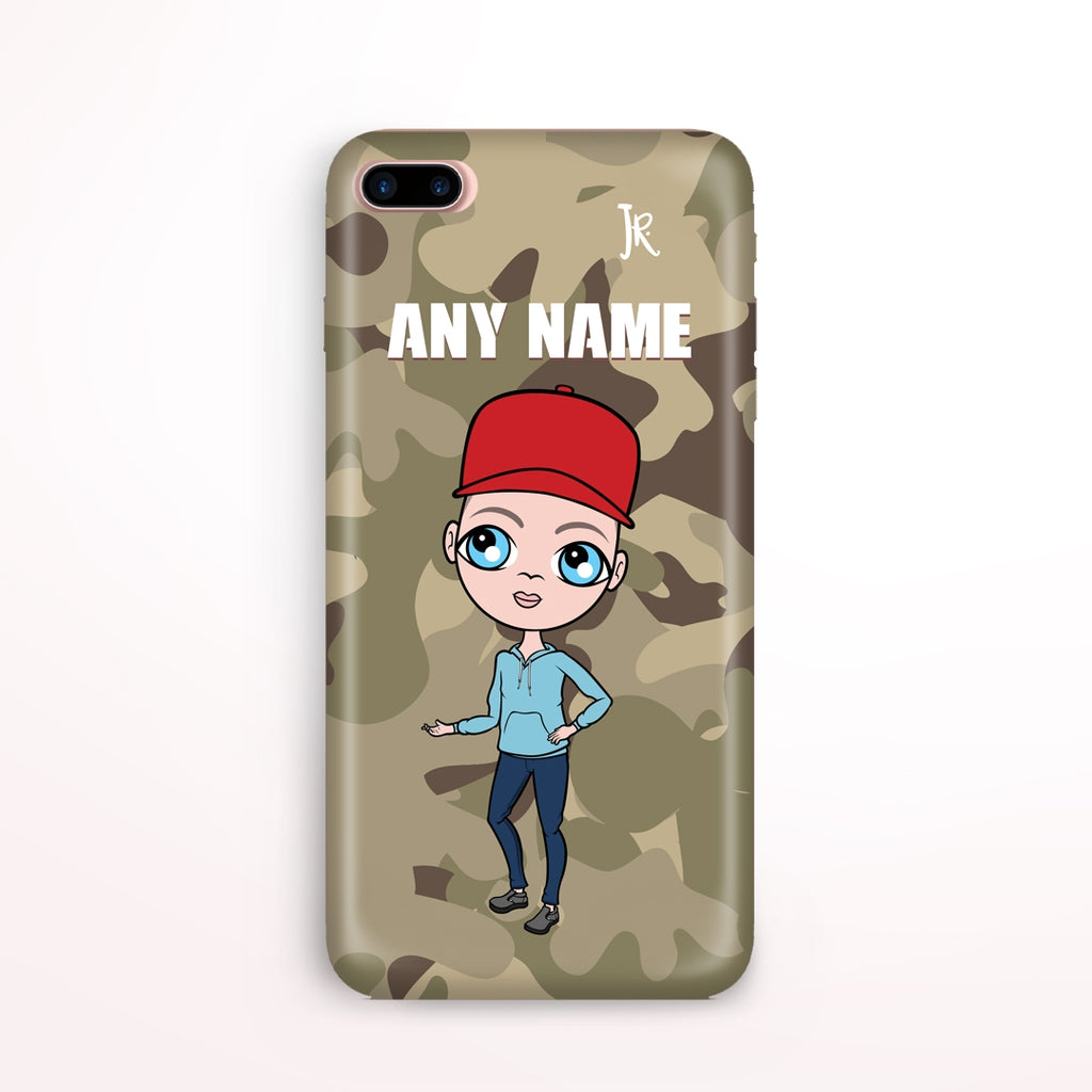 Jnr Boys Camo Phone Case - Image 1