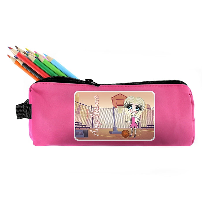 ClaireaBella Girls Netball Pencil Case - Image 3