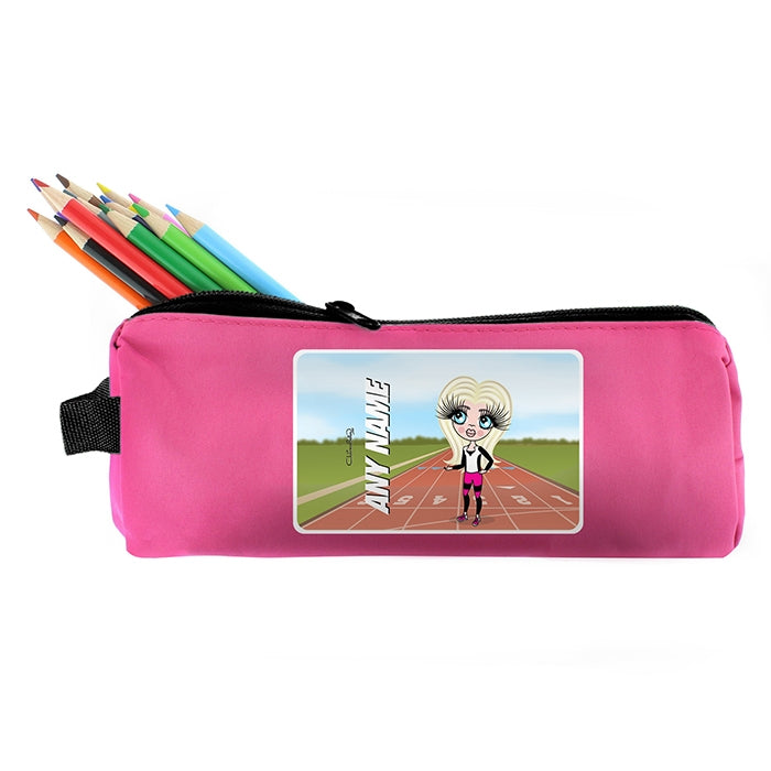 ClaireaBella Girls Running Track Pencil Case - Image 5