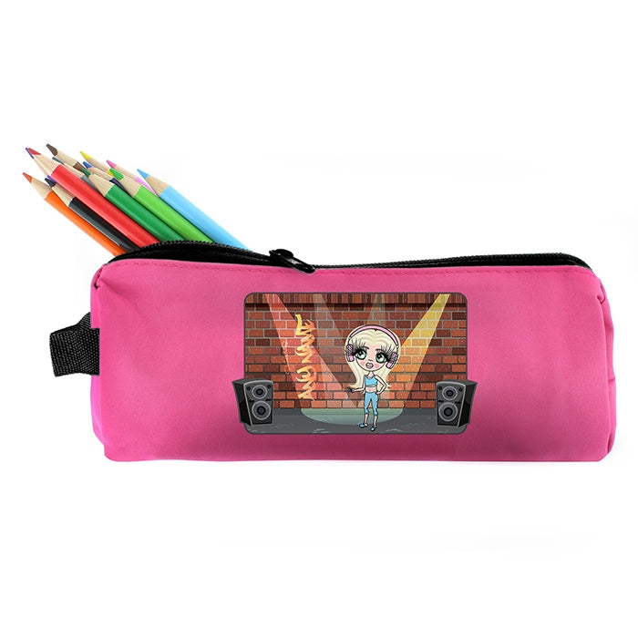 ClaireaBella Girls Street Dance Pencil Case - Image 4