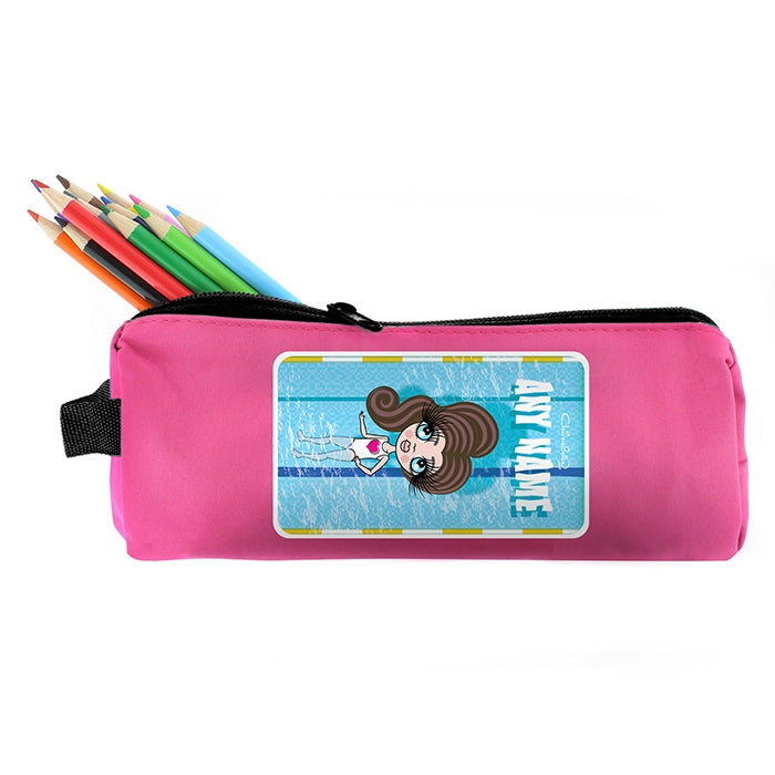 ClaireaBella Girls Swimming Pencil Case - Image 5