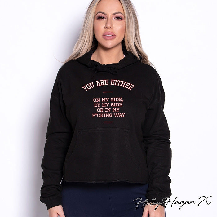 Holly Hagan X My Way Cropped Hoodie - Image 5