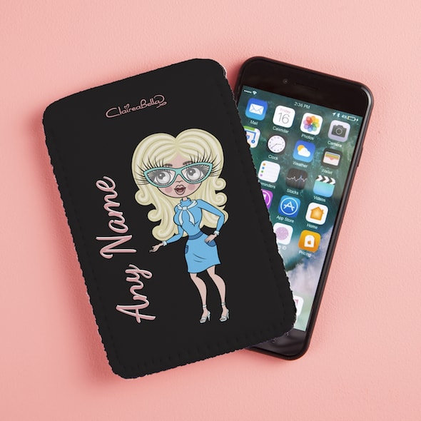 ClaireaBella Fabric Phone Case - Image 1