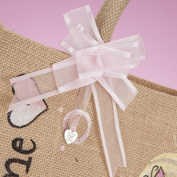 ClaireaBella Medium Jute Bag - Image 7