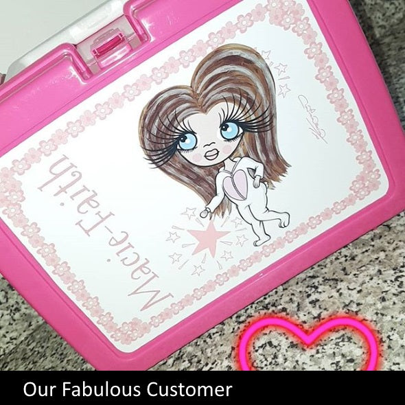 ClaireaBella Girls Flower Lunch Box - Image 2