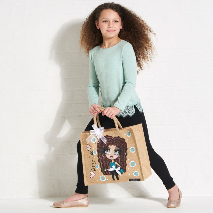 ClaireaBella Girls Large Jute Bag - Image 5