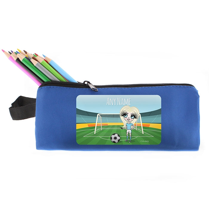 ClaireaBella Girls Football Pencil Case - Image 4