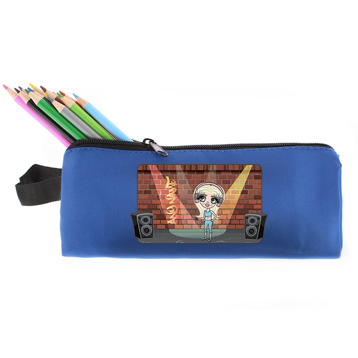ClaireaBella Girls Street Dance Pencil Case - Image 6