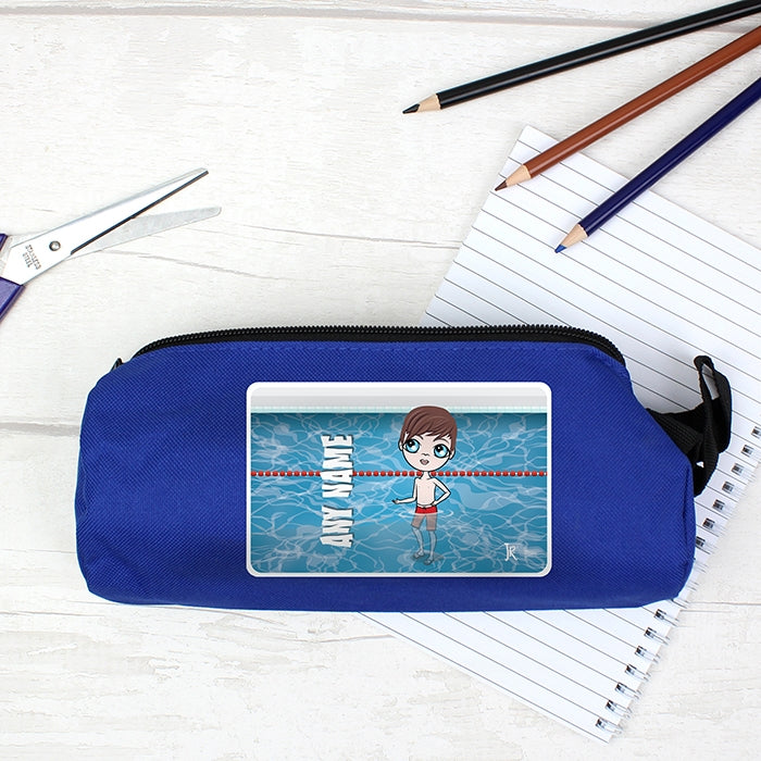 Jnr Boys Swimming Pencil Case - Image 1