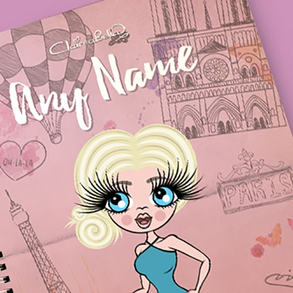 ClaireaBella Paris A4 Notebook - Image 2