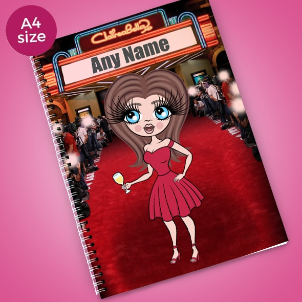 ClaireaBella Red Carpet A4 Notebook - Image 1