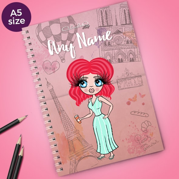 ClaireaBella Paris A5 Notebook - Image 1