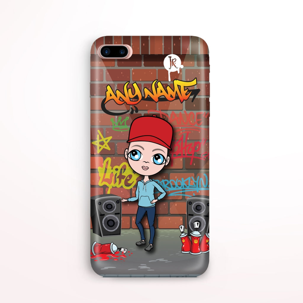 Jnr Boys Graffiti Phone Case - Image 1