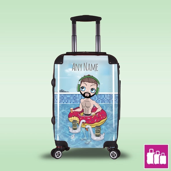 MrCB Pool Party Suitcase - Image 1