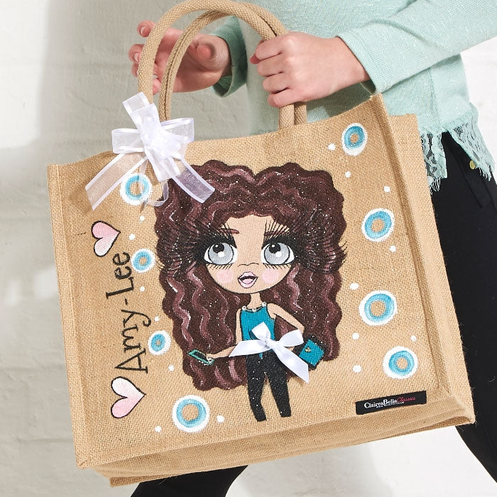 ClaireaBella Girls Large Jute Bag - Image 2