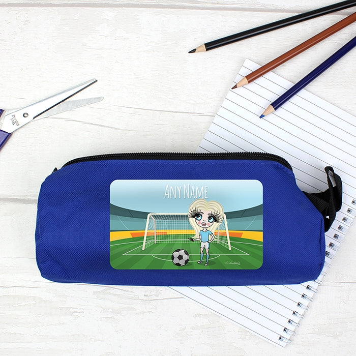 ClaireaBella Girls Football Pencil Case - Image 3