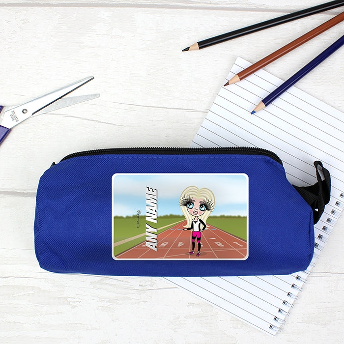 ClaireaBella Girls Running Track Pencil Case - Image 2