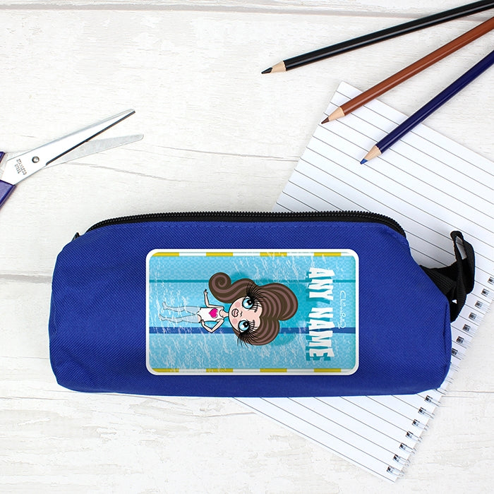 ClaireaBella Girls Swimming Pencil Case - Image 2