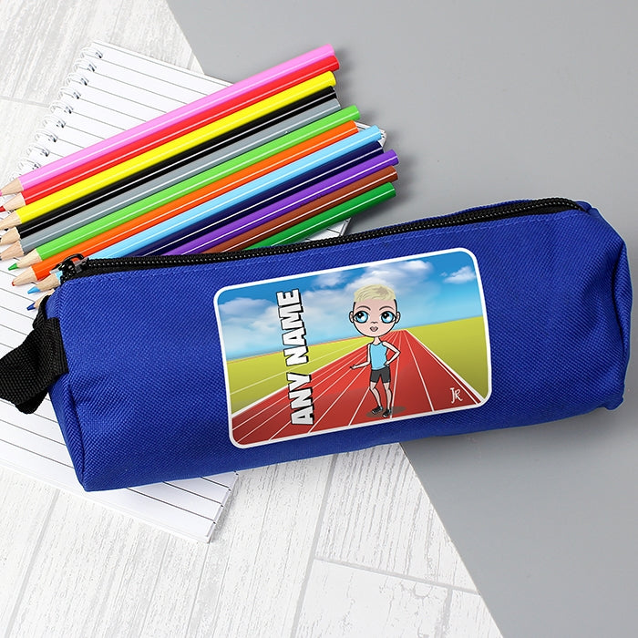 Jnr Boys Running Track Pencil Case - Image 1