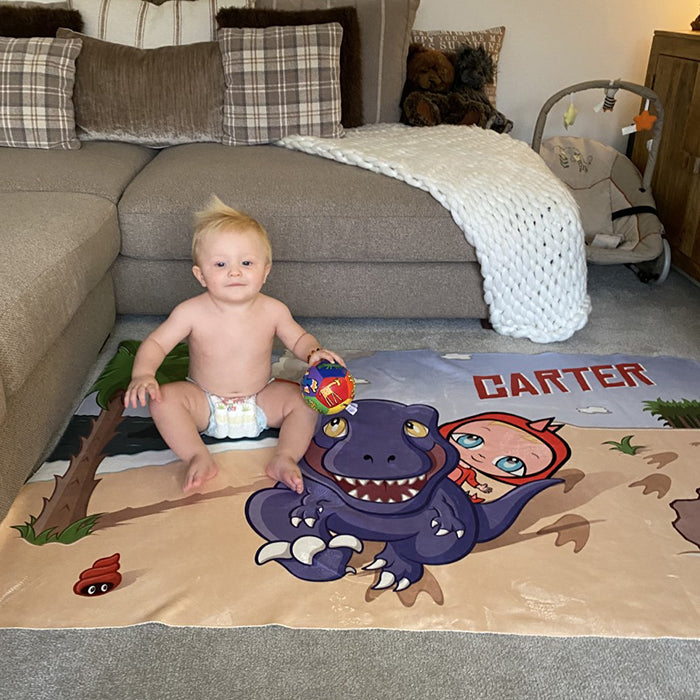Early Years Dinosaur Fleece Blanket