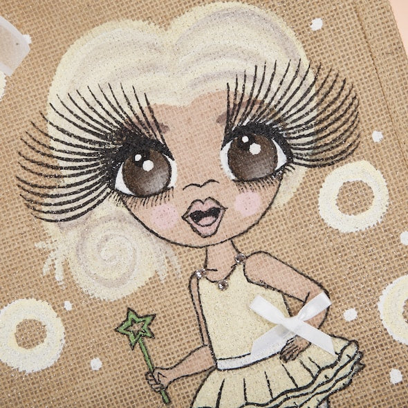 ClaireaBella Girls Medium Jute Bag - Image 2