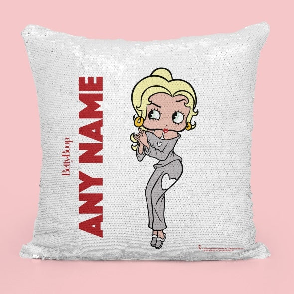 Betty Boop Classic Sequin Cushion - Image 4