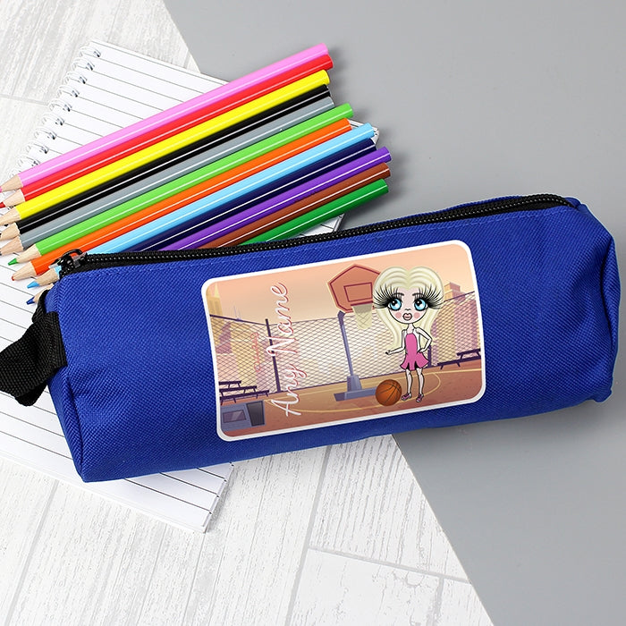 ClaireaBella Girls Netball Pencil Case - Image 2