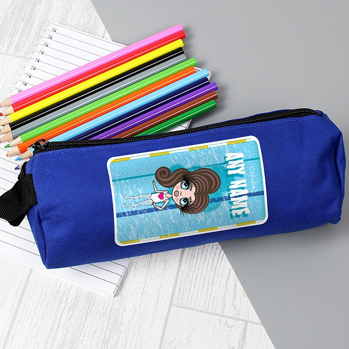 ClaireaBella Girls Swimming Pencil Case - Image 3