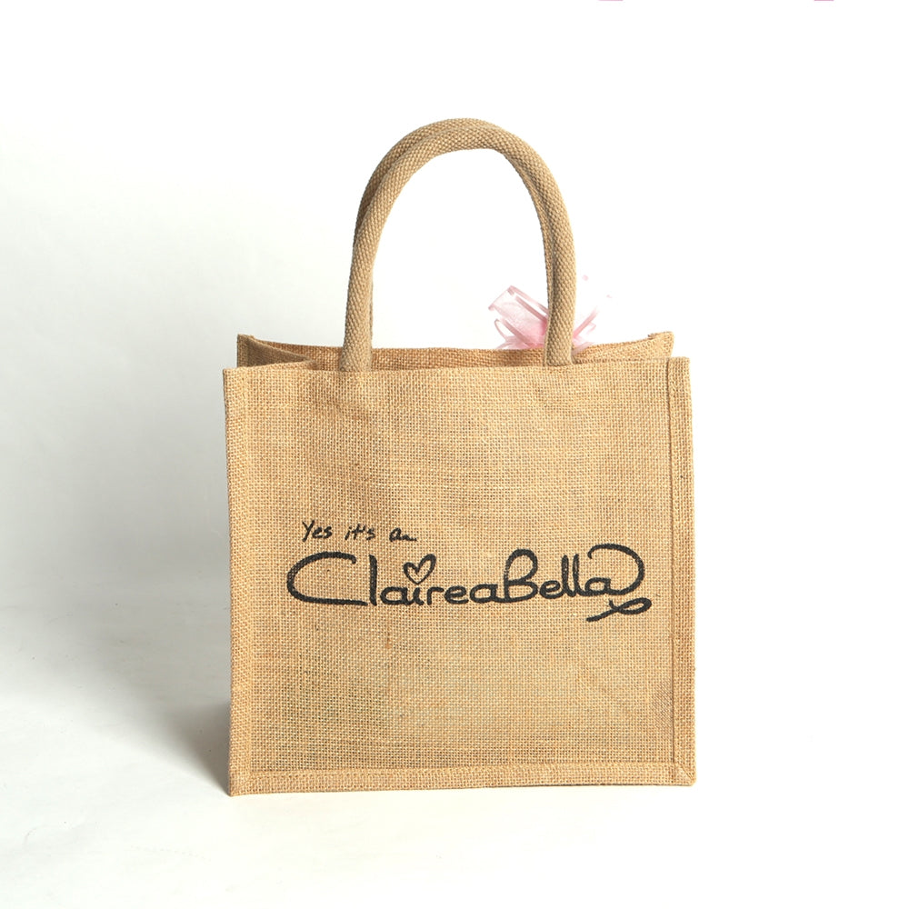 ClaireaBella Girls Dance Large Jute Bag - Image 2