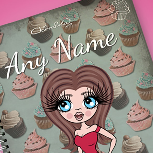 ClaireaBella Cupcake A4 Notebook - Image 2