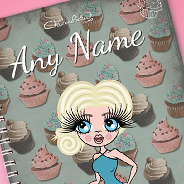 ClaireaBella Cupcake A5 Notebook - Image 2