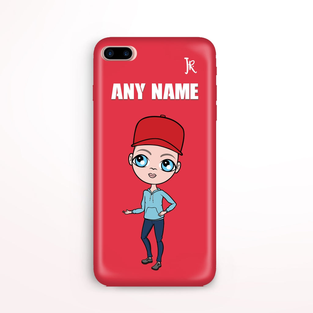 Jnr Boys Red Phone Case - Image 1