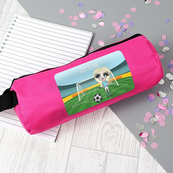 ClaireaBella Girls Football Pencil Case - Image 5