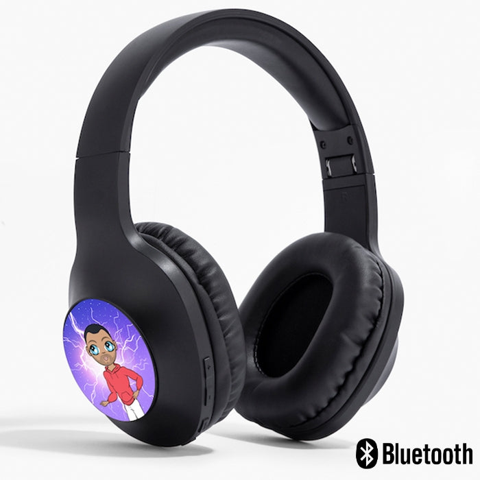 MrCB Lightning Personalised Wireless Headphones - Image 1