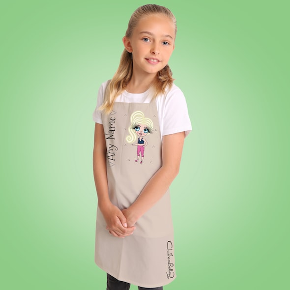 ClaireaBella Girls Apron - Image 2
