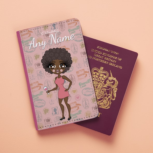 ClaireaBella Travel Stamp Passport Cover - Image 2