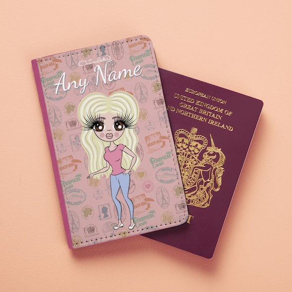 ClaireaBella Travel Stamp Passport Cover - Image 6