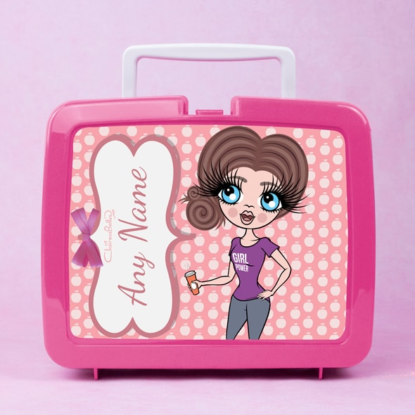 ClaireaBella Polka Dot Apple Lunch Box - Image 1